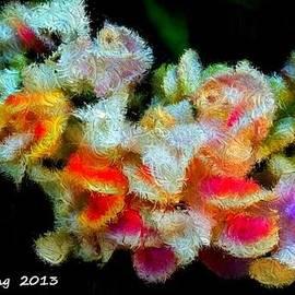 Bruce Nutting - Corkscrew Vine Silk Flowers