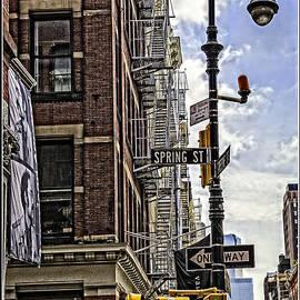 Madeline Ellis - Corner of Spring and Greene - Soho - NYC