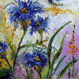 Ginette Callaway - Cornflowers Provence