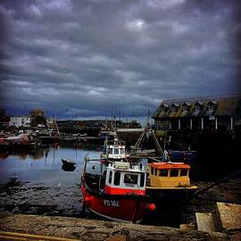 Harbour Lefts - #cornwall #boats #mevagissey #sea