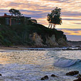 Eddie Yerkish - Corona Del Mar Sunrise Panorama