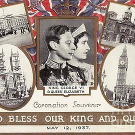 Kaye Menner - Coronation Souvenir - Old Postcard