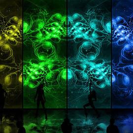 Shawn Dall - Cosmic Alien Vixens Pride
