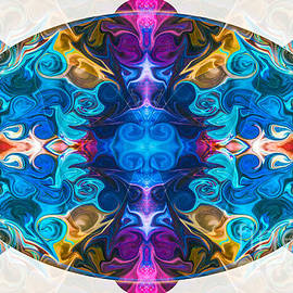 Omaste Witkowski - Cosmic Clocks and Ticking Tocks Abstract Shapes by Omaste Witkow