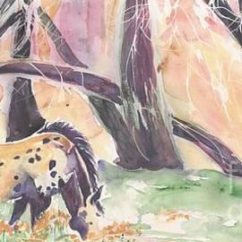 CheyAnne Sexton - Costilla Pony watercolor