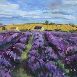 Donna Tuten - Cotswold Lavender Fields