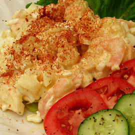 James Temple - Cottage Cheese Shrimp Salad