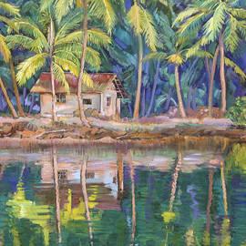 Dominique Amendola - Cottage on the river