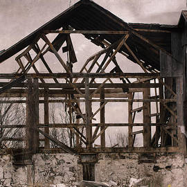 James Canning - Country Barn Ruin
