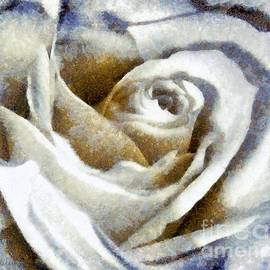 Janine Riley - Country Blues white Rose