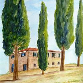 Christine Huwer - Country house in Tuscany