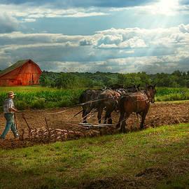 Mike Savad - Country - Ringoes NJ - Preparing for crops