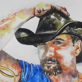 Chrisann Ellis - Country Singer Tim McGraw 02