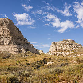 Brian Harig - Courthouse And Jail Rocks - Bridgeport Nebraska