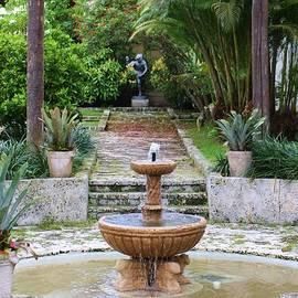 Chuck  Hicks - Courtyard Bonnet House