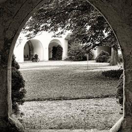 Menega Sabidussi - Courtyard Contemplation