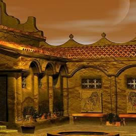 John Pangia - Courtyard