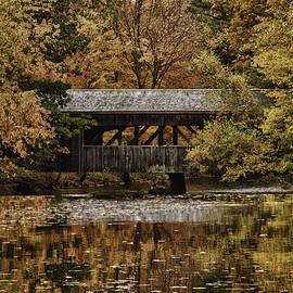 Jeff Folger - Covered bridge at Sturbridge Village