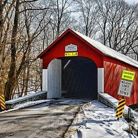Paul Ward - Covered Bridge in Winter