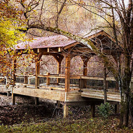 Debra and Dave Vanderlaan - Covered Bridge on the River Walk