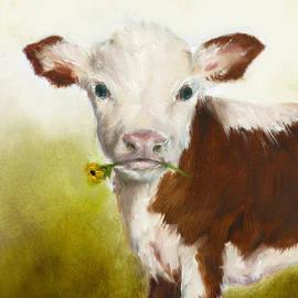 Junko Van Norman - Cow Art Print
