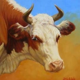 Margaret Stockdale - Cow Face