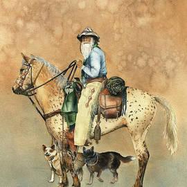 Nan Wright - Cowboy and Appaloosa