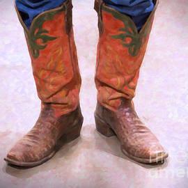 Janice Rae Pariza - Cowboy Boots