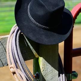 Paul Ward - Cowboy Hat on Fence
