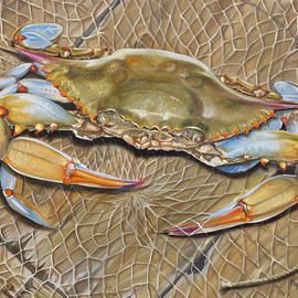 Phyllis Beiser - Crab In A Trap