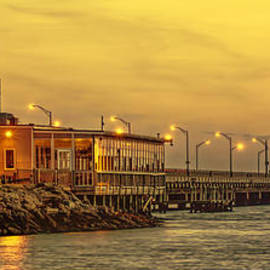 Olahs Photography - Crab Shack on the James in Amber Glow