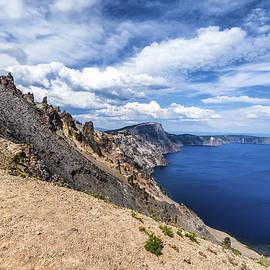 Joseph S Giacalone - Crater Rim Crater Lake