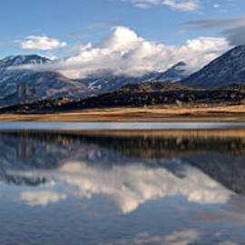 Eric Rundle - Crawford Reservoir and the West Elk Mountains