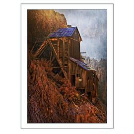 Priscilla Burgers - Creede Colorado Mine Building