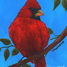 Susan Plenzick - Crimson Cardinal
