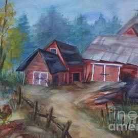 Ellen Levinson - Crooked Red Barn