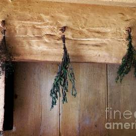 RC DeWinter - Crossbeam with Herbs Drying