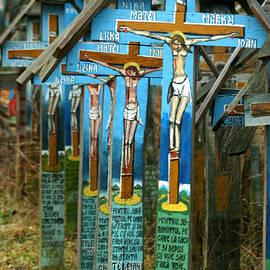 Emanuel Tanjala - Crosses in an Orthodox graveyard