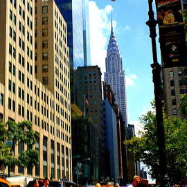 Photographic Art and Design by Dora Sofia Caputo - Crossing Forty-Second Street