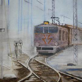 Sudip Mitra - Crossing the Tracks in Fog