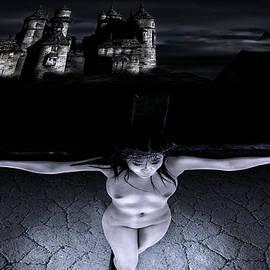 Ramon Martinez - Crucifixion in the night I