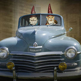 Randall Nyhof - Cruising Gnomes in a Vintage Plymouth