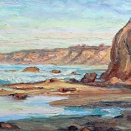Lynn T Bright - Crystal Cove Sunrise