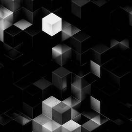 Jack Zulli - Cubed - Black and White