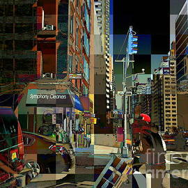 Miriam Danar - Loading the Truck 2 - People at Work in New York City - Street Scene
