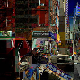 Miriam Danar - Loading the Truck 1 - People at Work in New York City - Street Scene