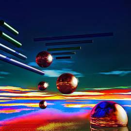 Ramon Martinez - Cylinders and spheres