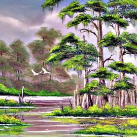 Bill Holkham - Cypress Trees-Wakulla River Florida
