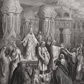 Gustave Dore - Cyrus Restoring the Vessels of the Temple