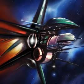 James Christopher Hill - Daedalus Destroyer
